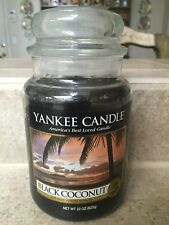 Yankee Candle: Black Coconut 22 Oz