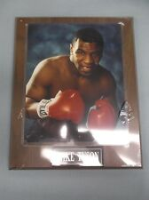 Mike Tyson Boxing 8 x 10 Photo on 10 1/2 x 13 Plaque engraved plate
