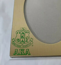 Vintage Oval Small Frame Alpha Kappa Alpha Sorority Inc. AKA