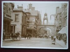 POSTCARD CHESHIRE CHESTER - THE EASTGATE C1910