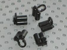 5 x LEGO Black minifig Airtank ref 3838 /Set 6987 6988 6955 6986 6989 6949 6781