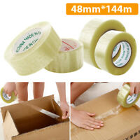 Transparent Strong Box Carton Sealing Parcel Packaging Tape Large Sellotape Roll