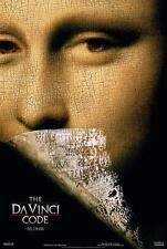 The Da Vinci Code Original 27x40 Movie Poster (2006) Hanks & Tautou