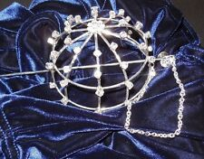 NEW LOT OF 3 Rhinestone buncovers Ballet Dance great gift Ballerina Bridal Bling