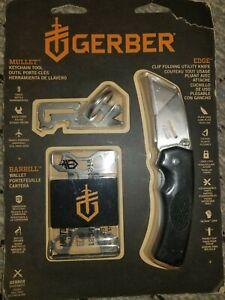 Gerber PARAFRAME Folding knife & Mullet Multi-Tool combo