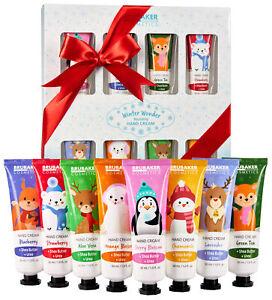 BRUBAKER Cosmetics Hand Cream Christmas Gift Set 8 pcs Moisturizing for Dry Hand
