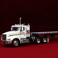 RARE & NEW - K J BRADLEY IH 9100i.with Wilson SpreadAxle Fltbed 30237 - 1/64 DCP
