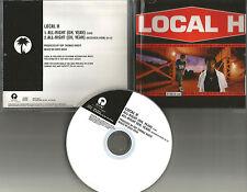 LOCAL H All right Oh yeah 1998 PROMO Radio DJ CD single USA  PRCD 7985