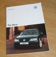 VOLKSWAGEN VW BORA BROCHURE 2004-2005 - 1.6 2.0 1.8T 1.9 TDI SPORT se Highline