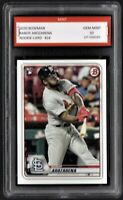 2020/20 Randy Arozarena Topps Bowman Rookie 1st Graded 10 S.L. Cardinals RC Card