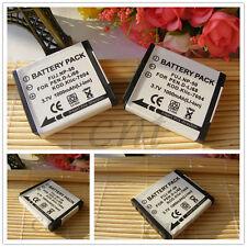 D-LI68 Battery x2  for Pentax Optio S10 S12 A36 A40 Q Q10 VS20