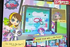 Littlest Pet Shop Say Ahh to the Spa Style Set Pack NIB