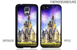 Disney Castle Walt and Mickey Fireworks Disney World Magic Kingdom Phone Case