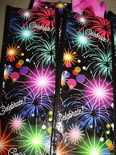 HOLIDAY CELEBRATE PLASTIC WINE BAGS LOT OF 5