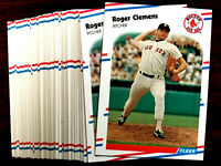 1988 Fleer ROGER CLEMENS ~ 20  CARDS LOT ~XXX~  RED SOX / YANKEES ACE PITCHER