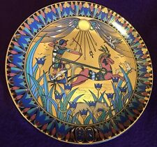 Royal Worcester Tutankhamun at the Hunt Legends of the Nile Plate King Tut Egypt