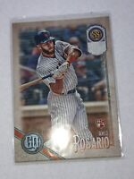 2018 Topps Gypsy Queen AMED ROSARIO Missing Team Name RC #22 New York Mets