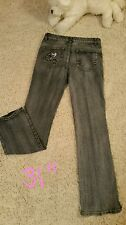 True People Stretch Jeans Sequins Size 9