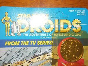 VTG~1977~1984~1985~Kenner~Star~Wars~Droids~KEZ~IBAN~COIN~ADV~C3PO~R2D2~tv~series
