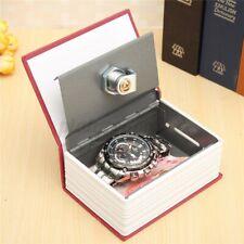 Dictionary Book with Secret Safe Lock+w/2 Keys Money Jewellery Cash Hiden Box US