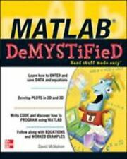 MATLAB Demystified by McMahon, David , Perfect Paperback