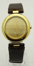 TISSOT 750 GOLDRUSH T258604 18k Gold & STAINLESS STEEL BACK Quartz