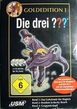 """PC-GAME - """"Die drei ??? - Goldedition I - Band 1 bis 3 (PC & Mac) +ovp+"""