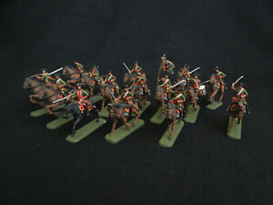 PRO-PAINTED Revel 2573 Austrian Dragoons 7 Years Wars 1/72 E