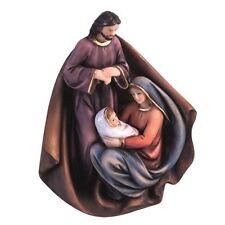 SACRA famiglia natività FIGURINA Regalo Christmas Decor Bibbia Festive Natale Ornamento