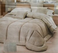 GF. FERRARI. Quilt Trapuntino SIMONA + 2 Fodere cuscino, 100 gr/m2. Matrimoniale