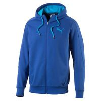 223a7e70f39 Men s New Puma Zip Hooded Sweatshirt Hoodie Hoody Sweater Pullover Top -  Blue