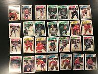 1988-89 Topps 28 Card Lot Scott Stevens + More