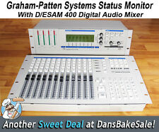Graham-Patten Systems D/ESAM 400 Digital Audio Mixer With System Status Monitor
