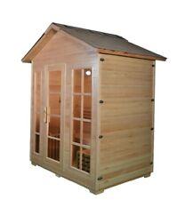 2-4 or 5-6 Person Outdoor Wet/ Dry sauna
