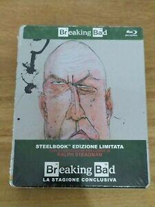 Breaking Bad SteelBook NUOVO SIGILLATO EDIZIONE LIMITATA RARO ART .