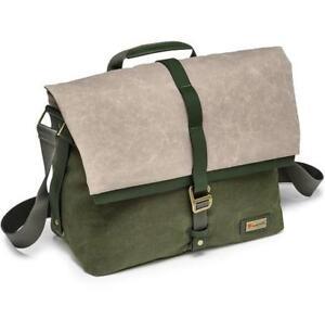 Manfrotto Woodland Medium Messenger Shoulder Bag - Green