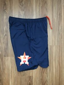 Houston Astros Nike Shorts Authentic On Field Mens Size Large