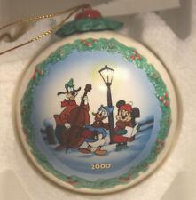 WDCC Pluto's Christmas Tree ornament - Goofy, Donald & Minnie NIB with the COA