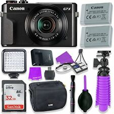 Canon PowerShot G7 X Mark II Digital Camera w/ 1 Inch Sensor & tilt LCD screen