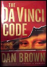 DAN BROWN THE DA VINCI CODE SIGNED FIRST ED PRISTINE!