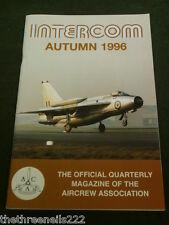AIRCREW ASSOCIATION - INTERCOM - AUTUMN 1996