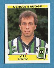 FOOTBALL 96 BELGIO Panini - Figurina-Sticker n. 100 -Y. SHEHU-C.BRUGGE-New