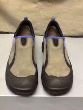 Clark's Leather Nubuck Comfort Shoe Loafer Brown Gray Black 10M