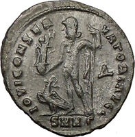 LICINIUS I  Constantine the Great enemy Ancient Roman Coin JUPITER Cult  i22096