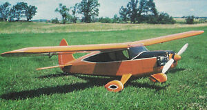 1/8 Sport Scale Fairchild 24 Plans,Templates and Instructions 54ws