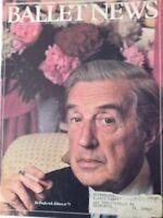 Ballet News Magazine Sir Frederick Ashton At 75 October 1979 082417nonrh