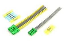 2x Stecker Set grün Heizgebläse Regler Widerstand Citroen Renault Peugeot Nissan