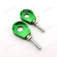 Grün 12mm Axle Spanner Kettenspanner für 110 125cc Pit Dirt Bikes Lifan YX Stomp