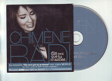 cd  2 titres Chimene Badi - dis moi que tu m'aimes / le mot fin -