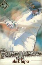 1996/97 Futera Cricket Decider 1st Day Issue Run Machine RM3 Mark Taylor